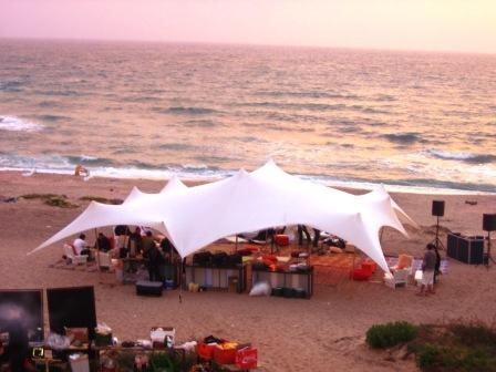אוהל לייקרה לבן