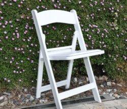 כיסא תאילנדי לבן