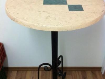 שולחן בר עגול