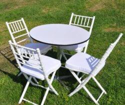 שולחן בית קפה עגול