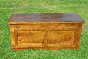 שולחן בוצ'ר אגוז