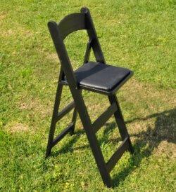 כיסא בר שחור