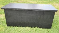 שולחן בוצ'ר שחור